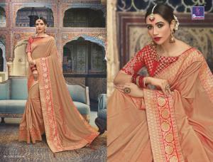 Shangrila Saree Manyavar Silk 8505