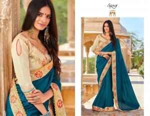 Saroj Saree Star Light 63009