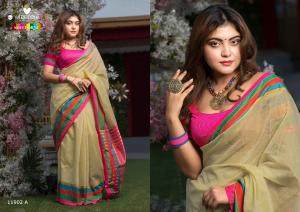 Varsiddhi Fashions Mintorsi Keshar Cotton 11902 A
