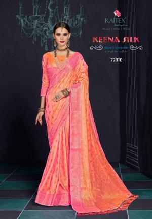 Rajtex Saree Keena Silk 72010