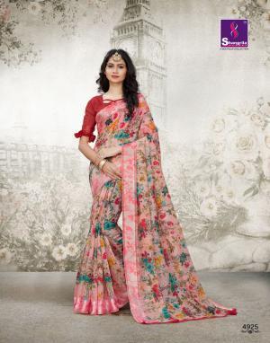 Shangrila Saree Kanchan 4925