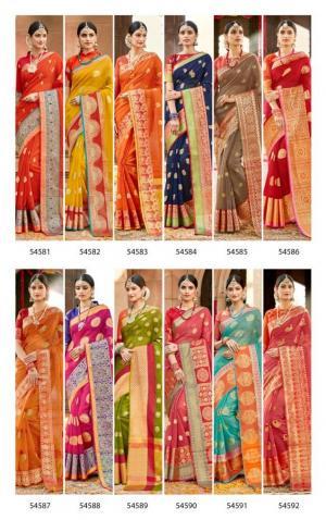 Lifestyle Saree Kavita 54581-54592