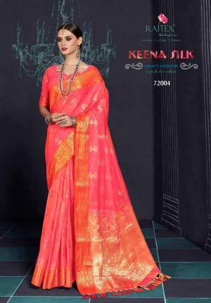 Rajtex Saree Keena Silk 72004