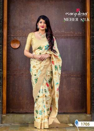 Manjubaa Meher Silk 1705
