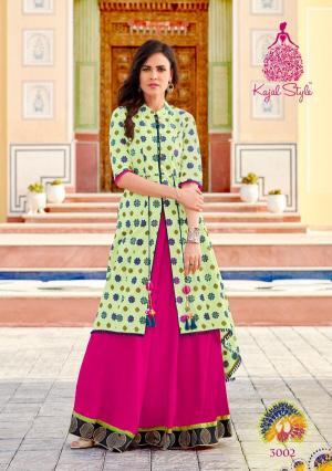 Kajal Style Fashion Lakme 3002