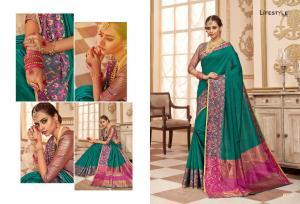 Lifestyle Saree Resham Silk 59222