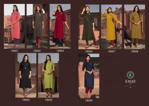 Kalki Fashion Pehchan 18001-18009
