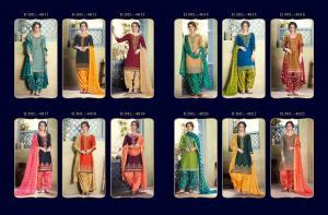Kessi Fabric Shangar By Patiala House 4011-4022