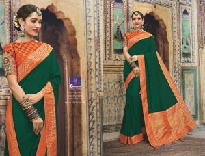 Shangrila Saree Manyavar Silk 8504