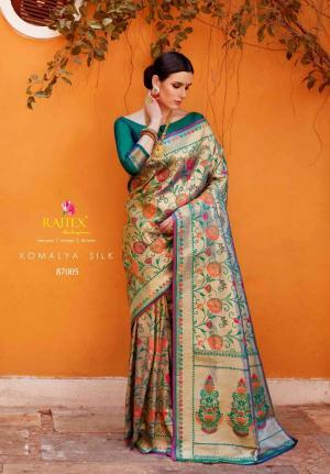 Rajtex Komalya Silk 87005