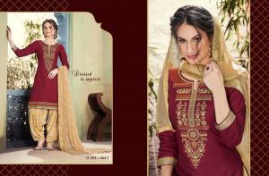 Kessi Fabric Shangar By Patiala House 4013