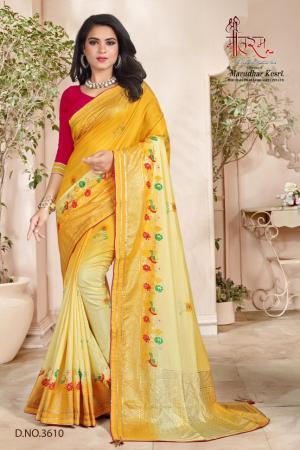 Shree Maataram Rajwadi Silk 3610