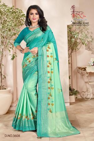 Shree Maataram Rajwadi Silk 3608