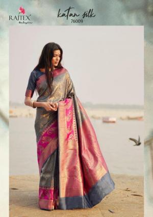 Rajtex Saree Katan Silk 76009