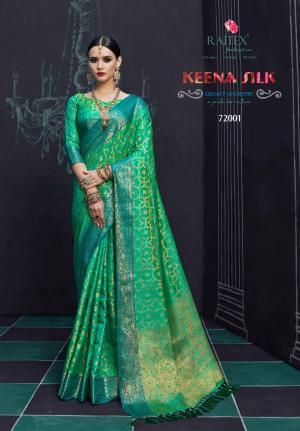 Rajtex Saree Keena Silk 72001