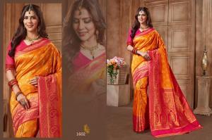 Jyotsana Saree Kanjivaram Silk 1602