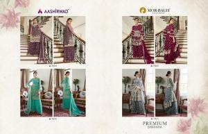 Aashirwad Creation Premium Sharara 7021-7024
