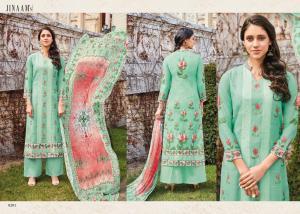 Jinaam Dress Mughal Motifs 8281