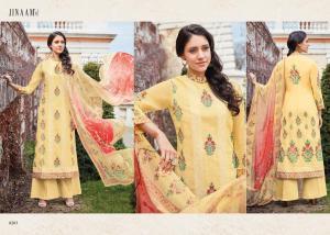 Jinaam Dress Mughal Motifs 8283