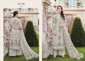 Jinaam Dress Mughal Motifs 8284