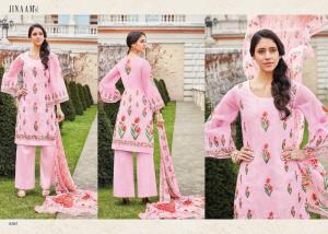 Jinaam Dress Mughal Motifs 8285