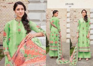 Jinaam Dress Mughal Motifs 8287
