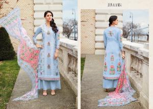 Jinaam Dress Mughal Motifs 8288