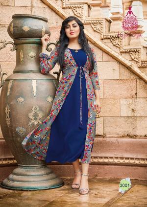 Kajal Style Fashion Bloosom 3001