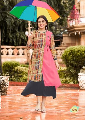 Kajal Style Fashion Bloosom 3003