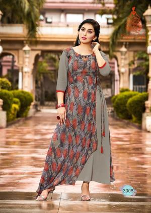 Kajal Style Fashion Bloosom 3006