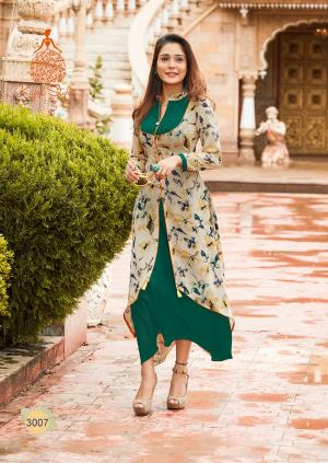 Kajal Style Fashion Bloosom 3007