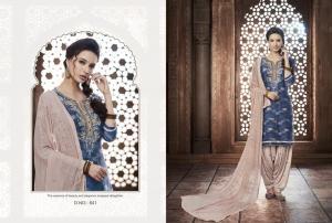 Kajree Fashion Saptrang By Patiala 641