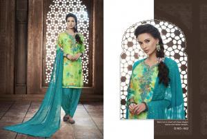 Kajree Fashion Saptrang By Patiala 642