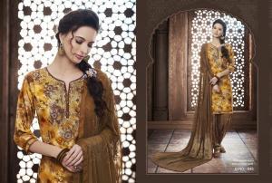 Kajree Fashion Saptrang By Patiala 645
