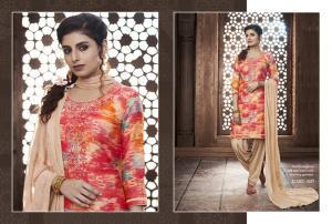 Kajree Fashion Saptrang By Patiala 647