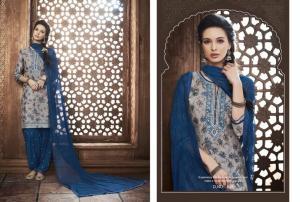 Kajree Fashion Saptrang By Patiala 648