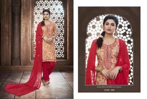 Kajree Fashion Saptrang By Patiala 649