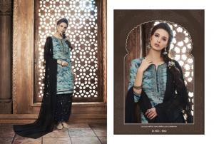 Kajree Fashion Saptrang By Patiala 652