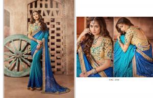 Kessi Fabrics Bandhej 8103