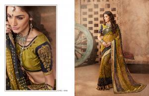 Kessi Fabrics Bandhej 8105