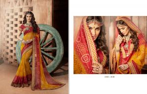 Kessi Fabrics Bandhej 8106