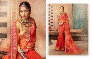 Kessi Fabrics Bandhej 8107