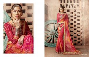 Kessi Fabrics Bandhej 8110