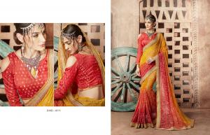 Kessi Fabrics Bandhej 8111
