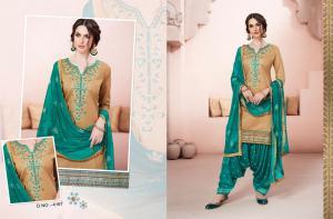 Kessi Fabrics Bridal By Patiala House 4167