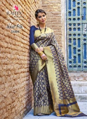 Rajtex Ikkat Silk 51004