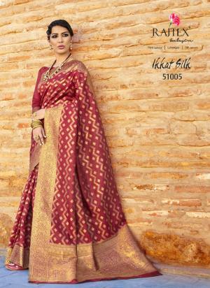 Rajtex Ikkat Silk 51005