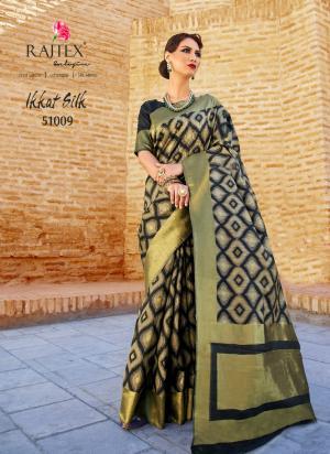 Rajtex Ikkat Silk 51009