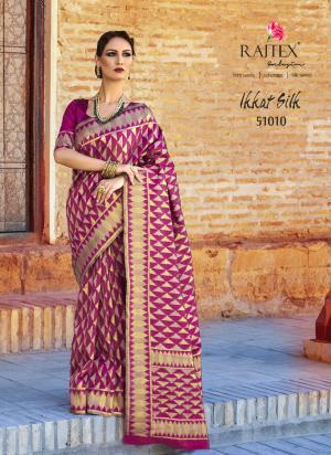 Rajtex Ikkat Silk 51010