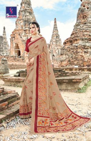Shangrila Madras Silk 2912